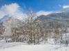winterliches Engadin