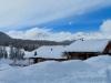 winterliche Verhältnisse   bei Pontresina