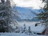 winterliche Verhältnisse in Engelberg; Laubergrat 2445m