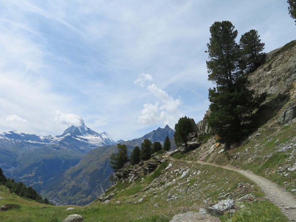 Matterhorn, Zinalrothorn