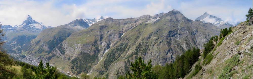 vom Matterhorn bis zum Weisshorn