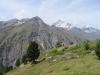 Mettelhorn 3406m, Weisshorn   4505m