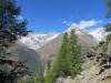 Pointe Sud de Moming 3963m, Poinrte Nord de Momimg 3862m,  Schalihorn 3975m,Weisshorn 4505m, Bishorn 4153m