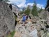 unterwegs auf dem Europaweg; Bishorn und Gletscher