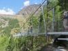 Charles Kuonen Hängebrücke  494 Meter lang