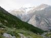 Weisshorn 4505m, Bisgletscher,  Bishorn 4153m, Brunegghorn 3853m