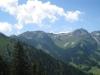 Chungel 2413m, Fäutscher 2354m, Rothorn 2363m, Hochwang 2533m, Tüfelschopf 2455m