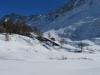 Gletscherstafel 1768m; Sattelhorn, Distlighorn