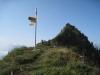 auf dem Pass, Pkt. 1972m;  Schafleger 2023m