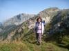 Marianne vor Schilt 2099m  und Hächlenstock 2316m