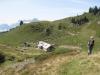 Birgitte im Abstieg nach  Alp Ober Fessis