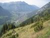 Sicht hinunter nach Enneda und Glarus