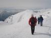 Wandern mit Bergpanorama