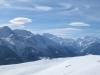 Panorama: Bättlihorn, Fletschorn, Mischabelgruppe, Matterhorn, Weisshorn
