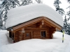 mehr als 1 m Schnee auf dem Dach