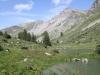 Vorderst See im Fläschertal  1888m; Falknis 2562m, Vorder Grauspitz 2599m, Hinter Grauspitz 2347m
