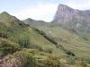 Kamm 2122m ,Glegghorn 2447m; Alp Bad