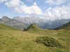 Sicht auf Tschingel, Panülerchopf 2859m, Scheseplana 2964m, Drusenfluh