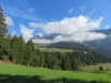 Flimserstein in den Wolken