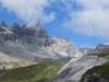 Kl.Tschingelhorn 2846m, Gr. Tschingelhorn 2849m,  Pass dil Segnas 2627m
