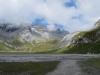 Hochebene  Segnas Sut; Kl.Tschingelhorn 2846m, Gr. Tschingelhorn 2849m,  Pass dil Segnas 2627m