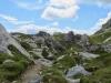 Blick zur Segneshütte   2102m