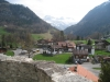 Sicht von der Flüeli Kapelle auf Flüeli