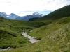 der Kelchbach mit: Monte Leone, Hübschhorn, vo Glishorn  und Fletschhorn
