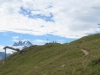 bald bin ich beim  Pkt. 2572m Bälgrat; Fletschhorn