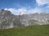 Alpjuhorn 3144m, Lägundegrat 2902m. dahinter Bietschhorn  3934m