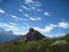 Marianne auf dem Bälgrat mit Foggenhorn 2569m