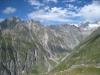 Schilthorn 3122m, Alpjuhorn 3144m, Lötschentaler Breithorn, Gredetschhoreli-und Gletscher