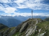 Gipfelkreuz Foggenhorn, Mischabel, Weisshorn