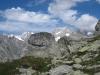 mächige Felsen mit Nesthorn 3821m