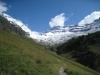 eine wunderschöne Sicht: Balmhorn 3698m,  Gitzifurggu 2912m, Ferdenrothorn 3180m