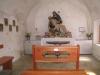 """die Flüealpkapelle; der """"Maria Sieben Schmerzen"""" geweiht, dargestellt in einer lebensgrossen Pietà"""