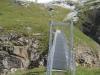 die Hängebrücke über die Dala Schlucht