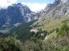 Blick auf die Calbinualp: Daubenhorn, hi Wildstrubel 3244m