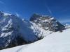der Schneeschuhtrail mit:  Grassen 2946m, Tierberg 2647m, Titlis 3238m, P.  2961m, Laubersgrat 2445m