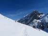 der Schneeschuhtrail mit: P. 3093m, Hinter Schloss 3139m, Pkt 2953m, Schlossbergerlücke 2627m