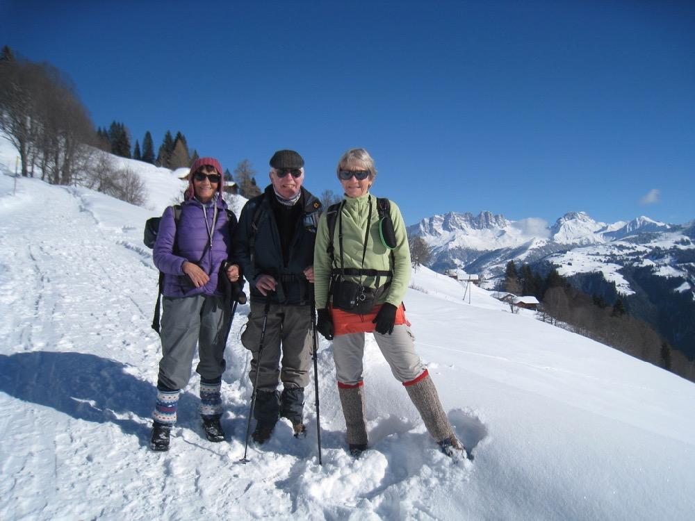 Marianne, Hanspeter und  Brigitte