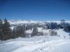 Winterlandschaft Furnerberg; Drusenfluh 2827m, Dri Türm2830m,vo  Schafberg 2456m, Sulzfluh 2817m, Chüenihorn 2413m, Alpbüel  2022m, Rätschenhorn 2703m