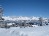 Zimba 2643m, Kirchlispitzen 2552m, Drusator, Drusenfluh 2827m, Dri Türm 2830m, vo  Schafberg  2456m, Chüenihorn 2413m,, hi Sulzfluh 2818m