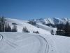 in der Wendeschlaufe; Glattwang 2376m, Hinteregg 2396m