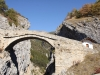 die Hohe Brücke über den Feschelbach
