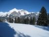 Winterbild mit Wildhauser Schafberg 2373m,  Fels: Schafbergward 1908m, Altmann 2455m, Moor 2342m, Gulmen 1994m