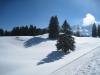 gegen Süden:Rotstein 2225m, Sichli 2320m
