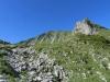 auf dem Weg zum Morgetenpass; Chummlispitz 2075m