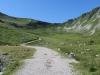der Weg auf den Mirgetenpass