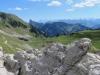 Sicht vom Leiterenpass 1905m auf das stockhorn 2190m